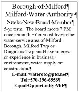 Board Member Ad 2020